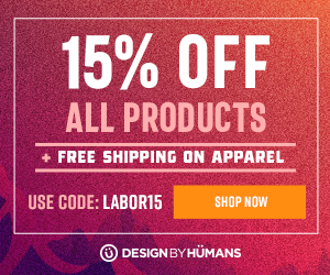 DesignByHumans: 15% off All Products + Free Shipping